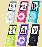 Цифровой МР4 плеер Perfeo  VI-M011 (музыка, видео, графические файлы, диктофон, радио, 6 цветов)